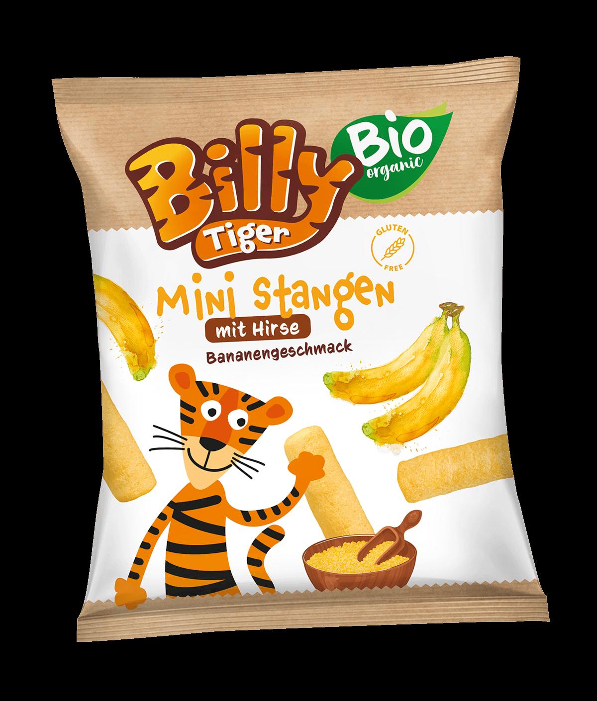 Billy Tiger Ministangen 30g Banan_EAN 5903018640723