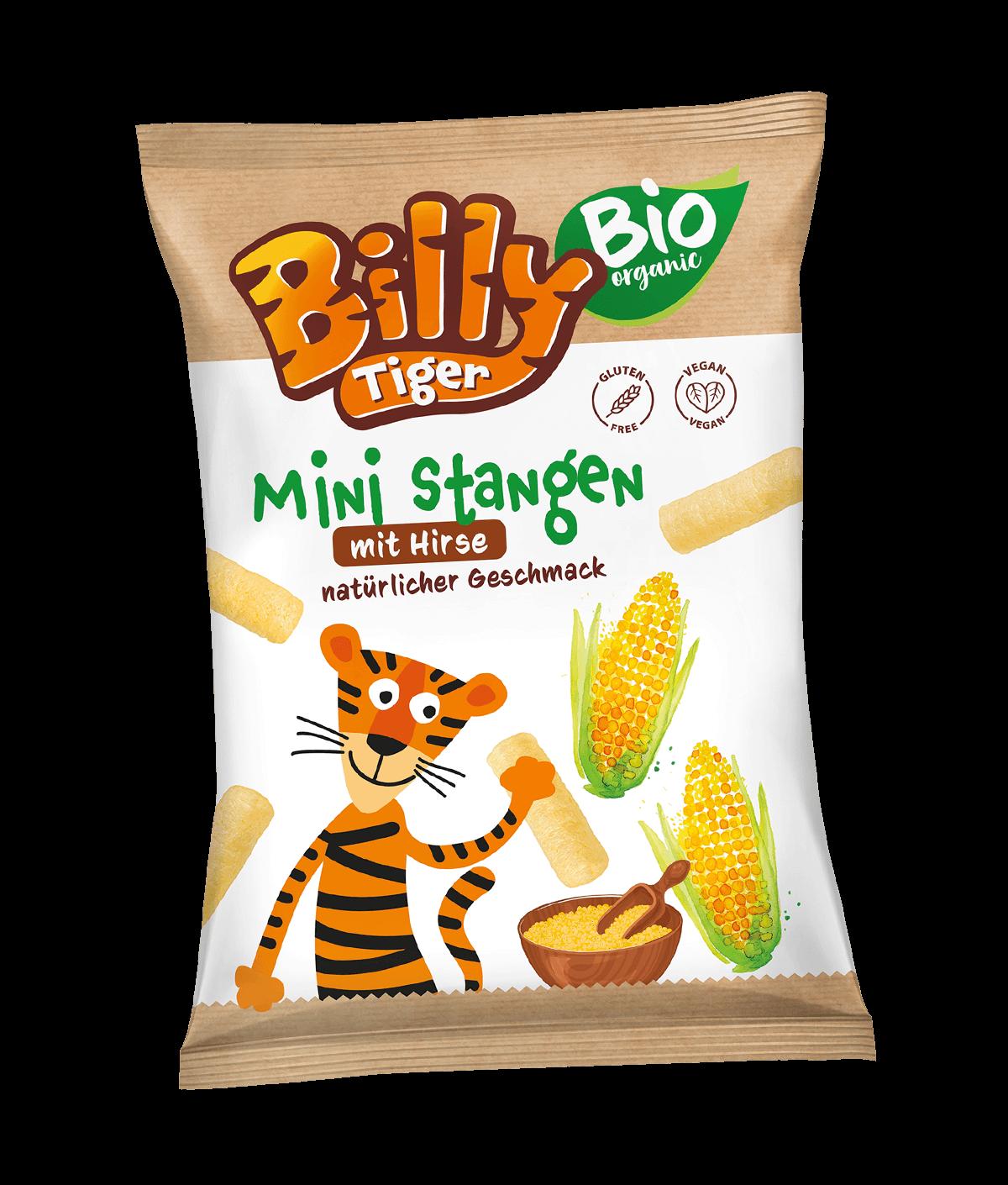Billy Tiger Ministangen 30g Hirse_EAN 5903018640709
